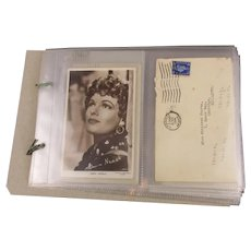 Correspondence Anna Neagle And Fan Vintage 1941-1950