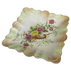 Early 'W&R' Carlton Ware Ceramic Dish Antique c1890