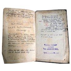 Table Talk Essays On Men & Manners Book By William Hazlitt Antique Victorian c1901