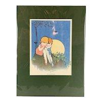 Children Print Title An Adventure By Hilda Cowham Vintage 1923