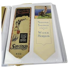 Collection Of Different Bookmarks Antique From c1890 To c1930