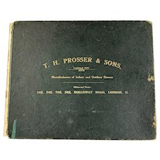 Collection Of Photos Manufacturers Indoor And Outdoorof Prosser And Son Holloway London Antique Victorian c1853