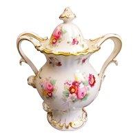 Coalport Bone China Pot Pourri Vase Vintage Mid Century c1960