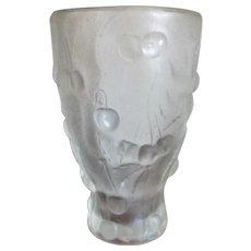 Vintage French Art Deco Moulded Art Vase c1930s.