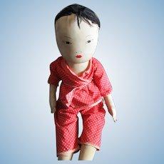 Vietnamese Doll Vintage 20th Century.