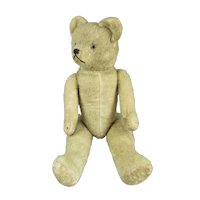 French Articulated Teddy Bear Vintage c1930s