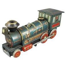 Tin Type Battery Operated Toy Train Vintage c1960