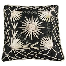 Good Luck 1924 Pin Cushion Art Deco