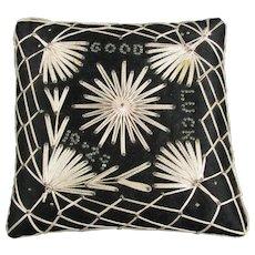 Good Luck 1924 Pin Cushion Art Deco