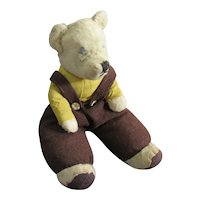 Hand Made Teddy Bear Vintage c1940