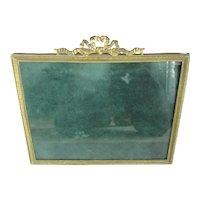 Large Brass Decorative Frame Antique Victorian c1890