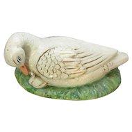 Duck Tureen Lid Antique c1855
