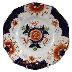 British Porcelain Gaudi Welsh Plate Antique Georgian c1835