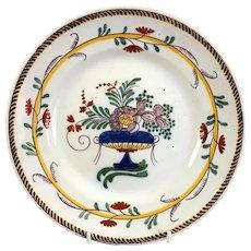 Delft Ceramic Plate Antique c1750
