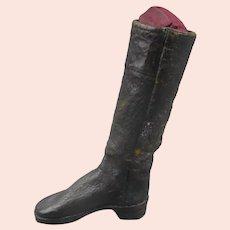 Apprentice Leather Boot Antique Georgian c1820