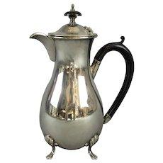 EPNS Silver Plate Coffee Pot Vintage Art Deco c.1930.