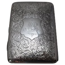 English Sterling Silver Aide-Memoire Antique c.1898.