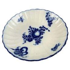 Caughley Porcelain Saucer Antique Georgian c1780