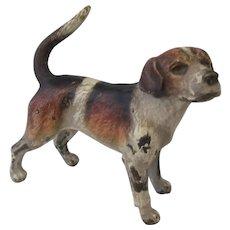 Cold Painted Bronze Greyhound Vienna Antique Victorian C1900.
