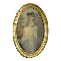 Framed Print of the Duchess of Devonshire Vintage
