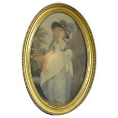 Framed Print of the Duchess of Devonshire Vintage