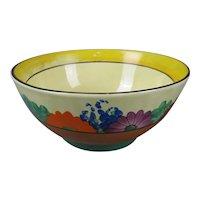 Clarice Cliff Bizarre Gayday Bowl Art Deco Vintage c1930