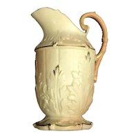 Locke & Co Worcester Porcelain Jug Antique c1902