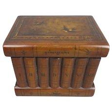 Tunbridge Ware Jewellery Box Antique Victorian c1890