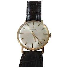 18k Gold Cyma Wristwatch Vintage c1969