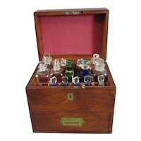 Military Campaign Apothecary's Box Antique Georgian c1820