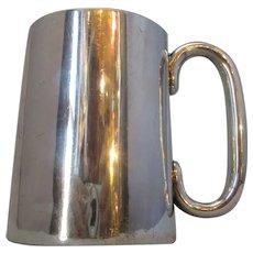 English Silver Tankard Antique c.1912.