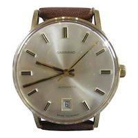 Garrard Solid 9 Carat Gold 21 Jewel Watch Vintage c1960