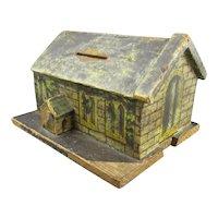 Church Aid Collection Box Antique Victorian c1900