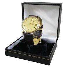 Omega Manual Wind 1030 Cal 9 Carat Gold Watch Vintage c1970