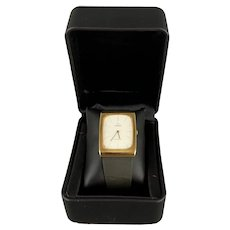 OMEGA Geneva Mens Boxed Gents 9K Gold Manual Wind 625 Cal Watch Vintage c1970
