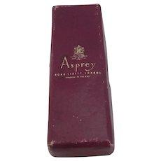 Asprey Cardboard Jewellery Box Vintage c1960.