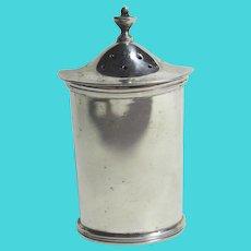 English Sterling Silver Pepper Pot Vintage 1970