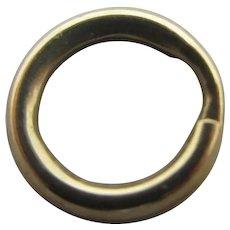 9k Gold Split Ring Findings Vintage Art Deco c1920