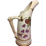 Royal Worcester Horn Pitcher