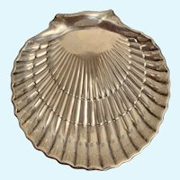 Gorham Sterling Silver Shell plate.