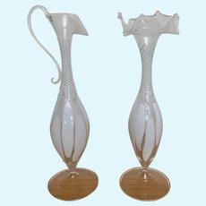 Bimini carafe and vase