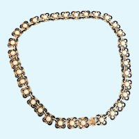 David Anderson Enamel Necklace Choker by Willy Winaess