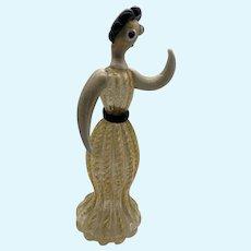 Barovier Coronato d'Oro Werkstatte Style Woman's Figure