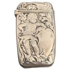 Whiting Sterling Match Safe