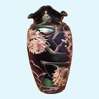 Pallme Konig art glass vase