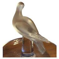 Lalique Charis Bird Ring Tray