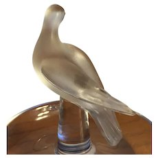 Lalique Charis Bird Ring Tray