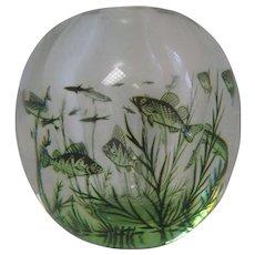 orrefors fish graal, 820 L 1956 Edward Hald