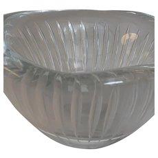 Kosta Vicke Lindstrand air trap bowl