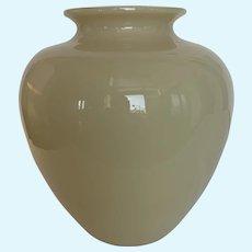Steuben Ivory vase